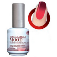 Lechat Mood Gel Polish - DWML34 Dark Rose