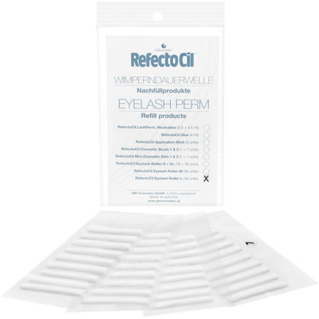 Refectocil Eyelash Curl Refill Rollers (Large)