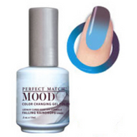 Lechat Mood Gel Polish - DWML29 Falling Raindrops