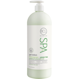BCL Spa Gel Lotion - Lemongrass + Green Tea