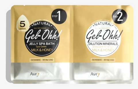 Avry Beauty Jelly Spa Bath - Milk & Honey