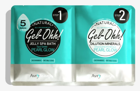 Avry Beauty Jelly Spa Bath - Pearl Glow
