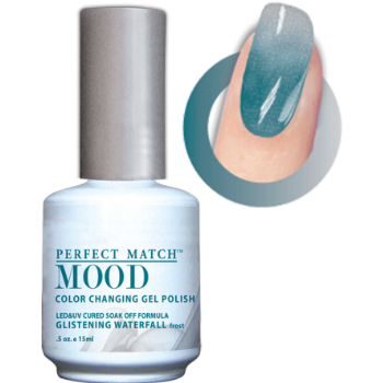 Lechat Mood Gel Polish - DWML14 Glistening Waterfall