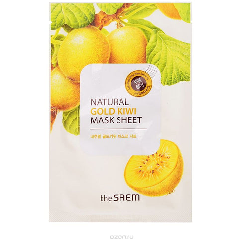 The Saem - Natural Mask Sheet - Gold Kiwi