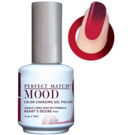 Lechat Mood Gel Polish - DWML38 Heart's Desire