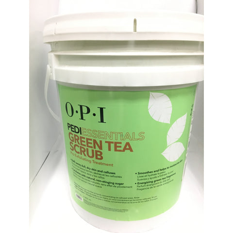 OPI Pedi Essentials Sugar Scrub - Green Tea 5Gal