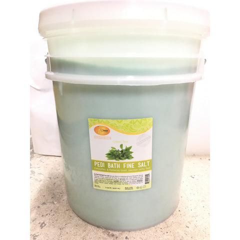 SpaRedi Pedi Bath Fine Salt - Green Tea 5Gal