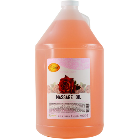SpaRedi Massage Oil - Sensual Rose