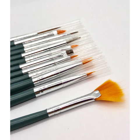 Queen - 12-Piece Brush Set