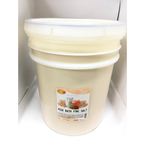 SpaRedi Pedi Bath Fine Salt - Milk & Honey 5Gal