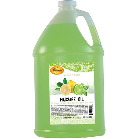 SpaRedi Massage Oil - Lemon Lime