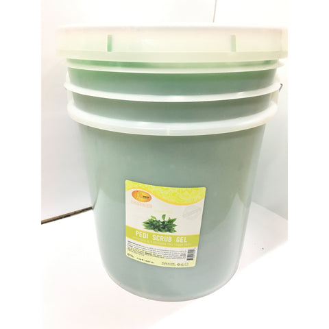 SpaRedi Pedi Scrub Gel 5Gal - Green Tea