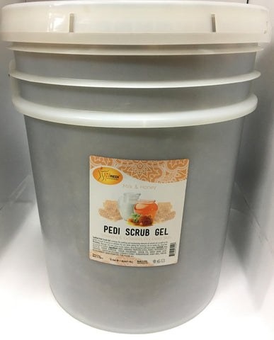 SpaRedi Pedi Scrub Gel - Milk & Honey 5Gal