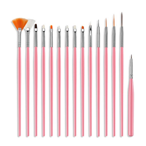 Queen - Nail Art Draw Print Brushes Set
