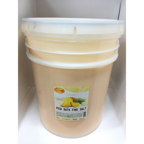 SpaRedi Pedi Bath Fine Salt 5Gal - Pineapple