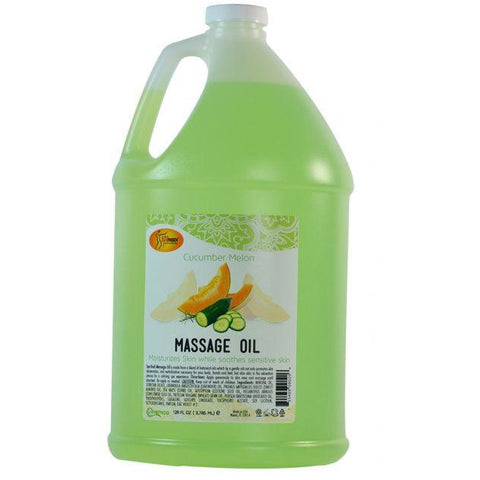 SpaRedi Massage Oil - Cucumber Melon 128oz