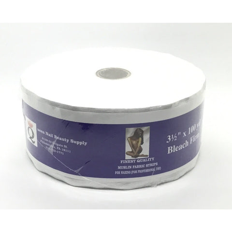 Queen Muslin Roll 3½ x 100yd Bleach Firm
