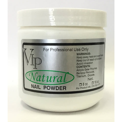 Vip Natural Acrylic Powder 16oz