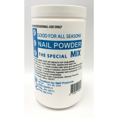 999 Blue Winter Mix Acrylic Powder 24oz