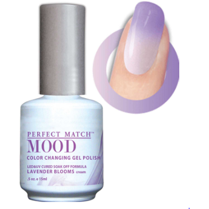 Lechat Mood Gel Polish - DWML20 Lavender Blooms