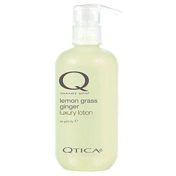 Qtica Smart Spa Luxury Lotion (Lemongrass Ginger Scent) 34 oz by Qtica Smart Spa