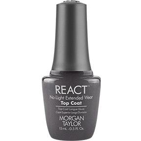 Morgan Taylor React No-Light Extended Top Coat