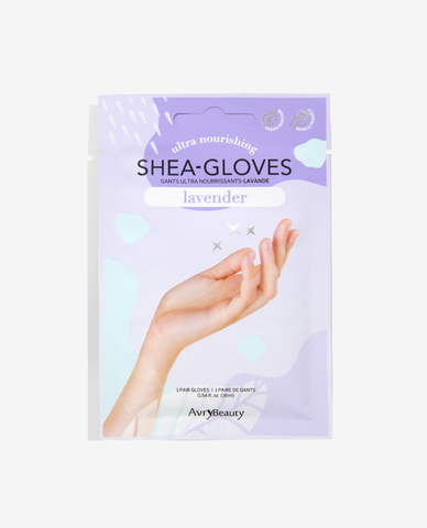 Avry Shea Butter Gloves - Lavender