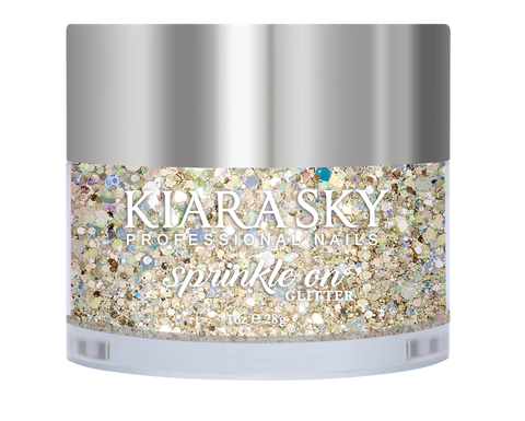 Kiara Sky Sprinkle On Glitter - SP214 Golden Goddess