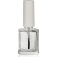 Empty Oblong Square Nail Polish Bottle