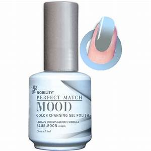 Lechat Mood Gel Polish - DWML12 Blue moon