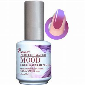 Lechat Mood Gel Polish - DWML11 Coral Caress