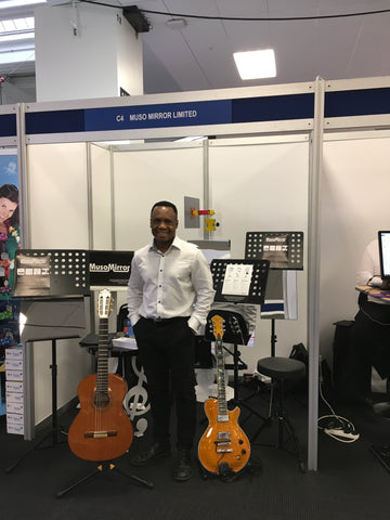 Muso Mirror at Music & Dram Education Expo February 2017, Olympia London