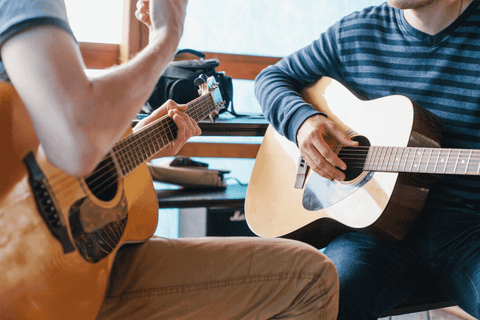 guitar tutor learning music instrument practice