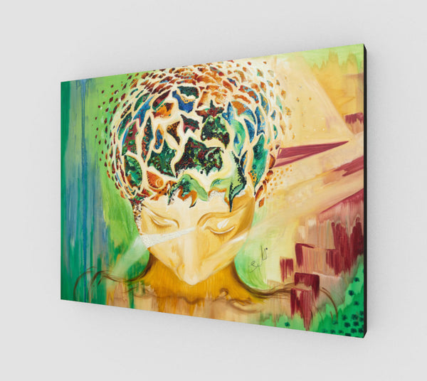 Mind of the Soul Canvas Print