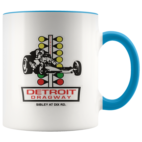 Detroit Dragway® Staging Tree Accent Mug