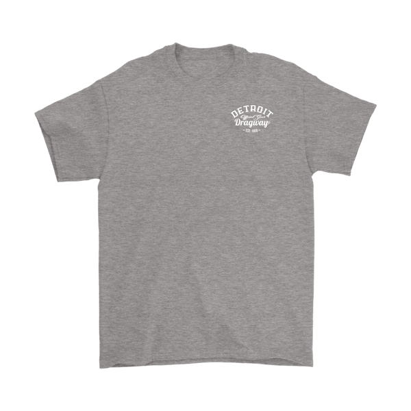 Detroit Dragway® Blower Car Short Sleeve T-Shirt