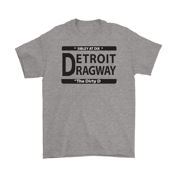 Detroit Dragway® Dirty D Short Sleeve T #1