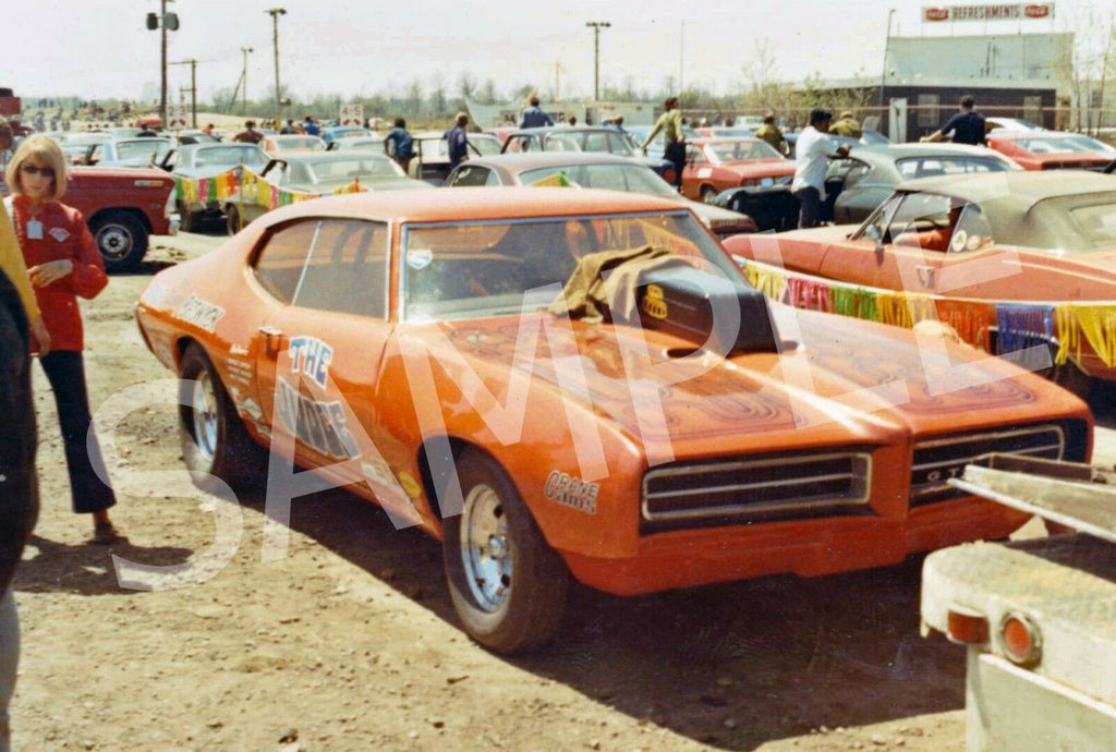 "4 x 6"" Color Photo of Arnie Beswick's ""The Judge"" GTO May 1970"