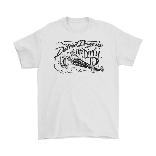Detroit Dragway® Dirty D Dragster Short Sleeve T