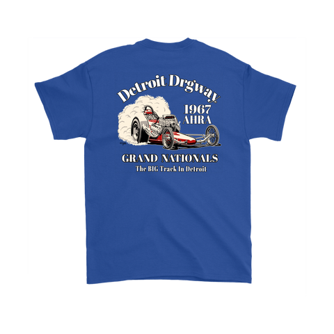 Detroit Dragway® 1967 Grand Nationals Short Sleeve T-Shirt