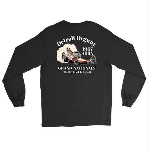 Detroit Dragway® 1967 Grand Nationals Long Sleeve T-Shirt