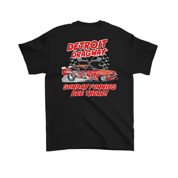 Detroit Dragway® SUNDAY FUNNIES Shirt 2