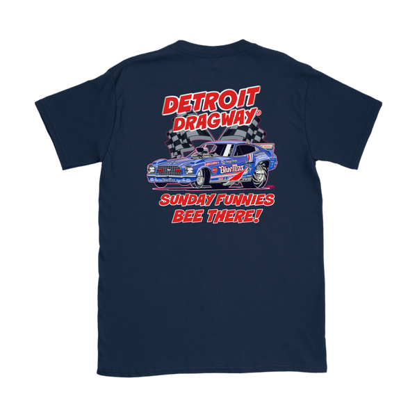 Detroit Dragway® Women's Sunday Funnies Shirt 1