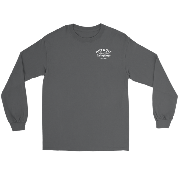 Detroit Dragway® Two Cars Long Sleeve T-Shirt