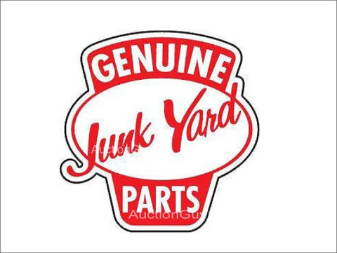 Genuine Junk Yard Parts Sticker/Decal
