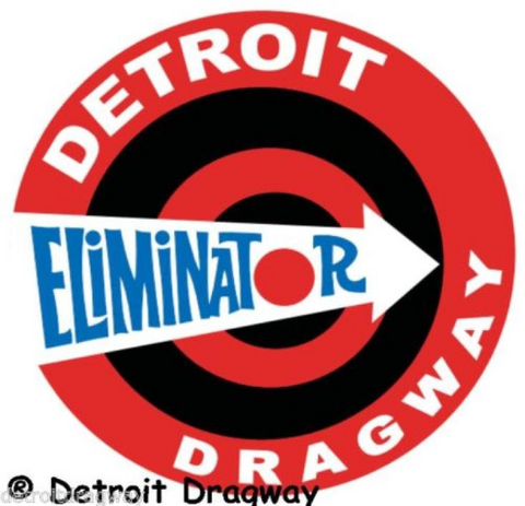Detroit Dragway Eliminator Decal/Sticker
