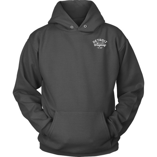 Detroit Dragway® Two Cars Unisex Hoodie