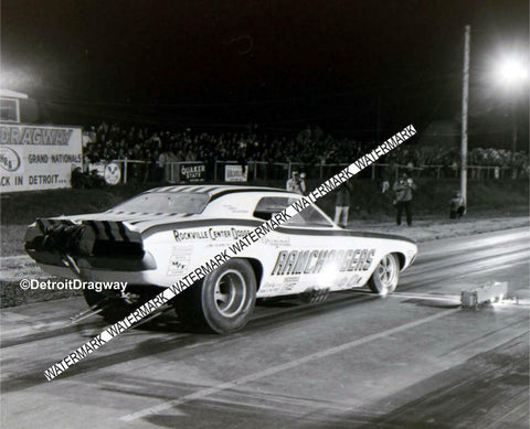 "This is a 4 x 6"" Glossy  Photo of The RAMCHARGERS Racing at Detroit Dragway®"