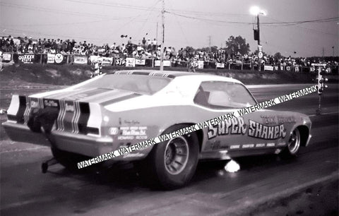 "4 x 6"" Glossy  Photo of The Super Shaker Racing At Detroit Dragway®"