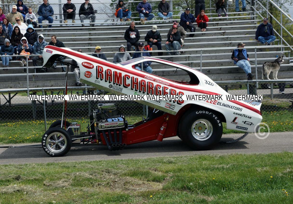 "8 x 10"" Color Photo of the RAMCHARGERS Funny Car"